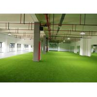 China Luxury Soft Artificial Grass For Your Home , Anti - Slip Plastic Grass Carpet on sale