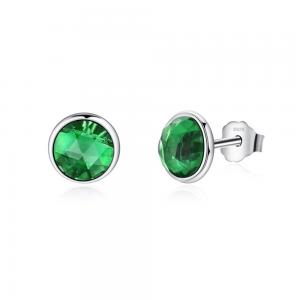 China Pandora August Droplets 925 Sterling Silver Earring Studs for Women on sale