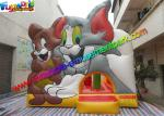 Amazing Tom And Jerry Commercial Bouncy Castles Inflatable Jumping House Water - Proof