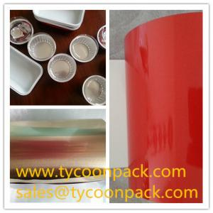 China Lacquered Aluminum Foil for Various Containers on sale