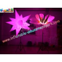 China Star / Flower Inflatable Led Lighting Decoration For Party , 3m High on sale