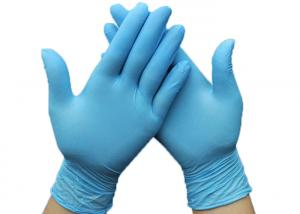 China SGS Nitrile Medical Examination Gloves / Disposable Hand Gloves No Sterile Life Vinyl Latex on sale