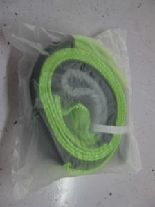 China Eco Friendly Heavy Duty Tow Straps Polyester Snatch Straps MBS 15000 KG 100mm on sale