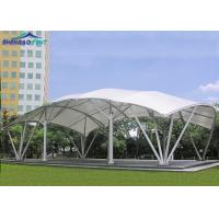 White Huge PVDF Tensile Structure Buildings For Event / Outdoor Sport