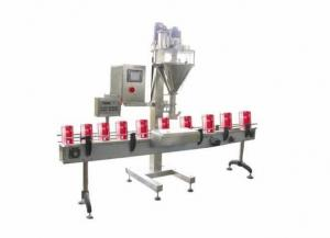 China SS304 Powder Semi-Automatic Filling Machine For PET Bottles / Cans on sale