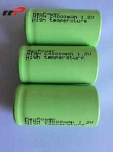 China 1.2V C size 4000mAh Nimh Rechargeable Battery Pack UL CE KC IEC SGS TISI on sale