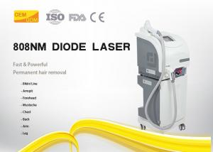 China Stable Working 808 Laser Hair Removal Device , Skin Hair Removal Machine Painless on sale