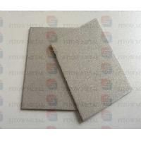 Welded large diameter metal powder sintered filter plate, 500 * 2.0 sintered titanium