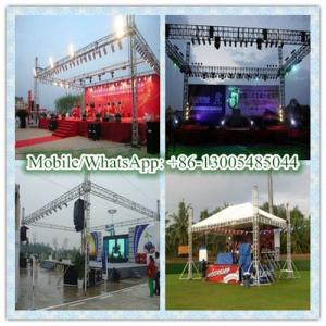 China aluminum outdoor concert truss stage on sale