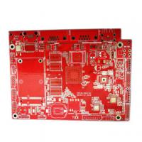 China 6 Layer Red High Performance Printed Circuit Boards High TG PCB Board Assembly 2OZ on sale