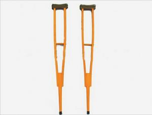 China Wooden Medical Walking Canes Crutch For Patient Cervical Traction on sale
