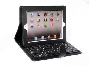 China Energy saving mode ABS ipad 2 Bluetooth Keyboard Case with handle and clip ID2-3 on sale