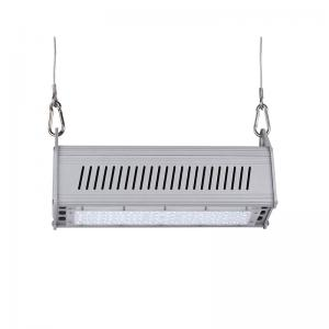China 50W AC 100-240V Bridgelux 3030	5000-5500LM 2700-6500K LED Linear High Bay Light on sale