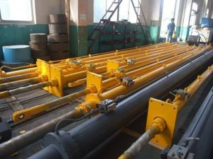 China Customized Welded Hydraulic Cylinders Double Acting Hydraulic Ram Rustproof on sale
