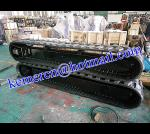 rubber track undercarriage / rubber crawler undercarrige/ rubber track system with load capacity 8 ton