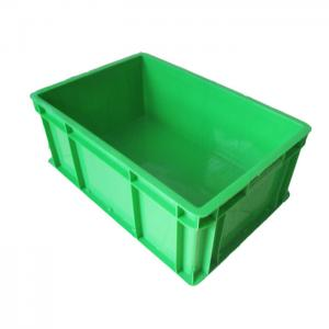 China Food grade solid HDPE plastic eu packing crate custom shipping boxes on sale