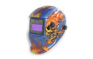 China Arc Self Darkening Welding Helmet Automatic With LED Light CE on sale