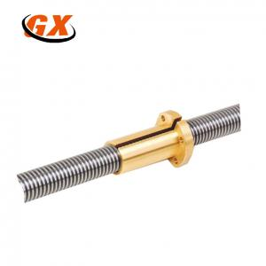 China Customized Stainless Steel Lead Screw with Trapezoidal Thread on sale