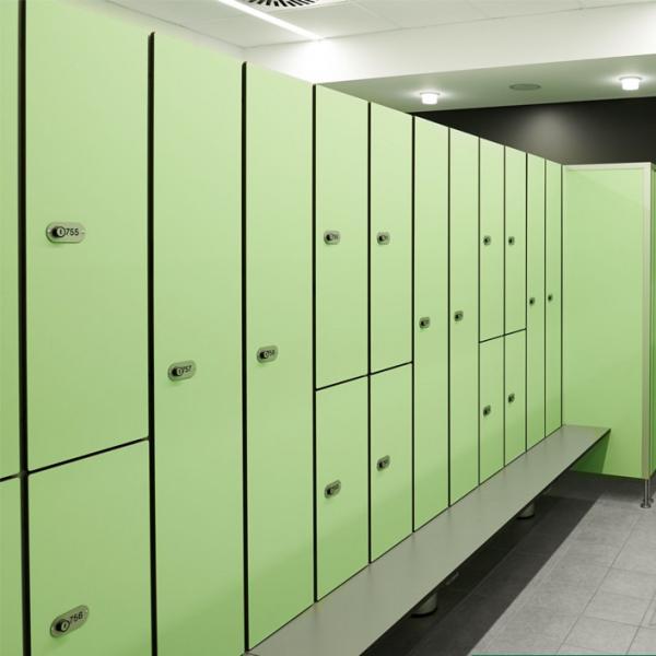 Mm height electronic key pad lock locker for gym locker room