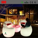 16 color changable Hot Selling Whaterproof Furniture LED Glowing Chair For Outdoor Yard Garden Party Club Event Park