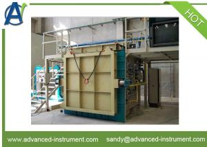 China Fire Resistance Vertical Test Furnace Machine by EN1363-1 and ISO 834 on sale