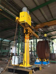 China Automatic Column And Boom Welding Manipulators With Self Align Rotator on sale