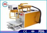 Air Cooling Smart CNC Industrial Laser Marking Machine For Metal Easily Operation
