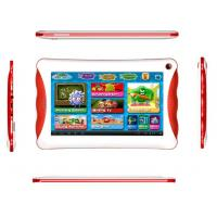 China Red / Yellow / Green Allwinner A23 Kids Educational Tablet with dual camera on sale