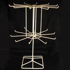 China Cord Wrapper Cardboard Spinner Displays Racks With Hooks And Rotatable on sale
