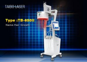 China Painless LCD Touch Screen Diode Laser Hair Growth Machine Low Level Laser Therapy Machine on sale
