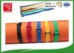 Courroies faites sur commande de crochet et de boucle d'OEM saisissant de soi-même avec la boucle toute couleur