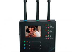 China Camera Hunter RF Signal Detector Monitor Display Scanning 1.2 2.4 5.8 GHz Auto Scanning on sale