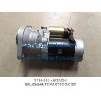 China S114-146 124450-77010 - Hitachi Starters Yanmar Tractor Combine Harvester 12V 15T 1.3W on sale