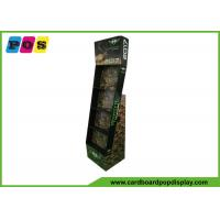 POP Advertising Cardboard Display Shelves , 4 Shelves Paper Display Stand For Calendars Showing POC035