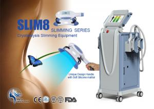 China Cryolipolysis Slimming Machine Cavitaion RF Cryo Machine For Freeze Slimming on sale
