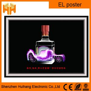 China Custom design EL poster and EL display with low price on sale