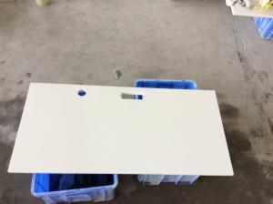 China Durable Engineered Granite Countertops Engineered Stone Kitchen Countertops White Solid Quartz on sale