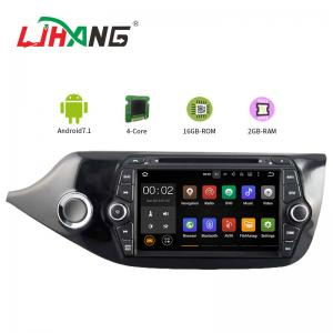China 7 Inch Car Stereo That Works With Android , KIA CEED Bluetooth DVD Player For Car on sale