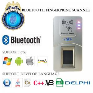 China Android Portable Handheld Programmable Bluetooth NFC Police USB Biometric Fingerprint Scanner for Time Attendance on sale