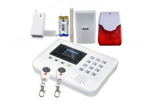 China GSM Intrusion Security Burglar Alarm Systems With Two-way Voice Communication on sale