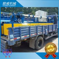 PVC Wire Full Automatic Chain Link Fence Machine Φ1.4mm - Φ4.5mm Weaving Diameter