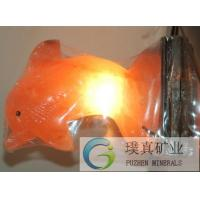 Wholesale different weight glow hand carved natural Crystal Himalayan Salt Lamp