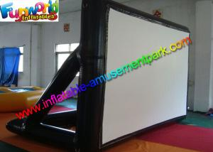 China Airtight Frame Inflatable Outdoor Movie Screen 0.6MM PVC Tarpaulin on sale