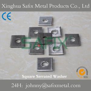 China Square Washer/ Serrated Washer/ Serration Washer/ Marble Fixing System For Stone Cladding on sale
