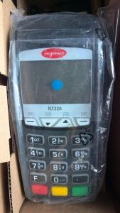 China New Ingenico ict220 Credit Card terminal  INGENICO ICT220 POS CON SIM CARD on sale