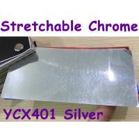 Stretchable Chrome Mirror Car Wrapping Vinyl Film - Chrome Silver