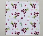 36 * 38cm Floral Kitchen Dish Towels With High Water And Grease Absorption