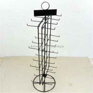 China Double Sided Countertop Spinner Display Rack for Hanging Items Merchandising on sale