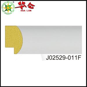 China J02529 series Hualun Guanse modern Plastic picture photo frame moulding/ PS moulding on sale