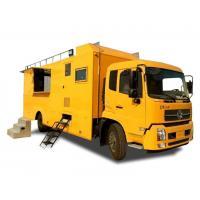 China King Run Mobile Kitchen Truck For Outdoor Engineering Project Camping Dining on sale